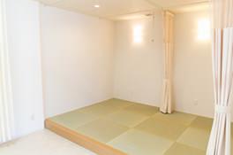 畳の点滴室